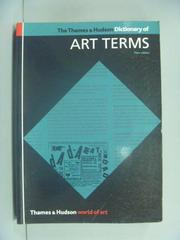 【書寶二手書T4/藝術_GLF】The Thames & Hudson dictionary of art te