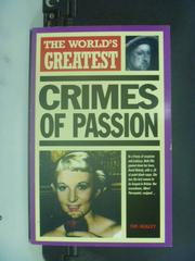 【書寶二手書T6/原文書_GEP】The World's Greatest Crimes of Passion