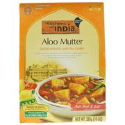 [iHerb] Kitchens of India, Aloo Mutter, Diced Potato and Pea Curry, 10 oz (285 g)