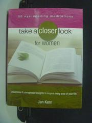 【書寶二手書T6/兩性關係_MGO】Take a Closer Look for Women