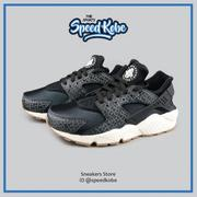 ☆SP☆ NIKE WMNS AIR HUARACHE RUN PRM 黑白 格紋 慢跑 女 683818-011