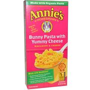 [iHerb] [iHerb] Annie's Homegrown Macaroni & Cheese, Bunny Pasta with Yummy Cheese, 6 oz (170 g)