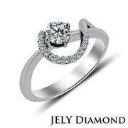 【JELY Diamond】BEST OF LOVE 0.30克拉完美車工 鑽戒