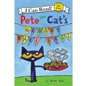 【老麥外文】〈An I Can Read系列:My First 〉PETE THE CAT'S:GROOVY BAKE SALE