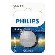 PHILIPS CR2016 / 3V鈕扣鋰電池 1顆裝