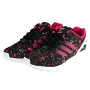【ADIDAS】CLOUDROM ADVANTAGE CLEAN W 休閒鞋 NEO 碎花 黑色(女)-B35321