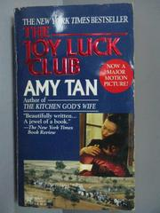 【書寶二手書T2/原文小說_IQW】The Joy Luck Club_Amy Tan
