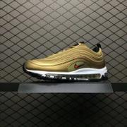 Nike Air Max 97 QS 「Metallic Gold」 884421-700 97子彈 土豪金 男款