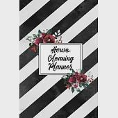House Cleaning Planner: Daily Weekly Check List Routine For The Year For Your Home Journal Book