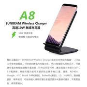 SUNBEAM Wireless Charger 10W高速QI認證智能芯片雙線圈無線充電iPhoneX iPhone8