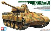 TAMIYA 1 /35 GERMAN TANK PANTHER Ausf.D (35345)