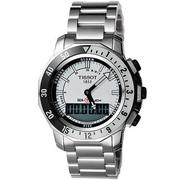 TISSOT SEA-TOUCH 觸控多功能潛水錶-白 T0264201103100