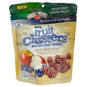 Brothers-All-Natural, Fruit Clusters, Bite-Size Fruit Snacks!, Blueberry & Fuji Apple, 1.25 oz (35 g)