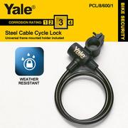 【Yale】Steel Cable Cycle Lock鋼纜單車安全鎖