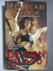 【書寶二手書T2/原文小說_HHF】Demon Blood_Meljean Brook