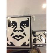 ☆J-Chao☆OBEY ICON FACE STICKER 貼紙