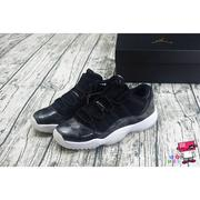 全新現貨 23~25cm NIKE AIR JORDAN 11 XI LOW BARONS GS 黑白 低筒 女 巴龍