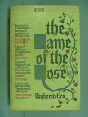 【書寶二手書T8/原文小說_LDY】The Name of the Rose_Umberto Eco