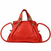 【CHLOE】中型 Paraty 手提/斜背包(牡丹紅/POPPY RED)8HS891 043 BEV
