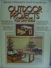 【書寶二手書T6/建築_YAW】Outdoor Projects_You Can Build