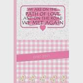 We Are On The Path Of Love And On The Road We Met Again: Gift Valentine''s Day 2020, With Much love on Valentine''s Day and always, Lots of love, Mmmmwa