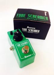【立昇樂器】 IBANEZ TUBE SCREAMER MINI TS MINI TS 808 破音效果器