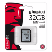Kingston SDHC R:80MB/s (SD10VG2)記憶卡 32GB 香港行貨