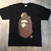 ☆J-Chao☆ A BATHING APE BABY MILO ON BIG APE TEE 猿人 黑 灰 兩色 現貨