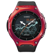 Casio WSD-F10 Android Wear 智能手錶 紅色