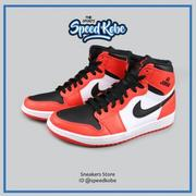 海外直送☆SP☆ NIKE AIR JORDAN 1 HIGH BG 白黑紅 AJ1 籃球鞋 女 705300-800