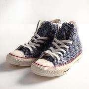 (女)Converse Chuck Taylor All Star Winter  高筒毛織藍-545060C