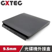 抽取式 TrayLoad UltraSlim 9.5mm SATA USB 2.0 薄型光碟機外接盒【ODK-PS9】