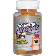 [iHerb] 21st Century, Zoo Friends Smart Kids Omega Plus DHA, 60 Gummies