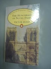 【書寶二手書T5/原文小說_KIY】The Hunchback of Notre Dame_Hugo, Victor