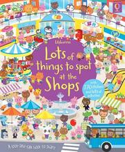 Usborne Lots of things to spot at the Shops 尋找遊戲貼紙書-購物 *夏日微風*