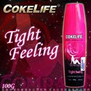 贈潤滑液 COKELIFE Tight feeling 女性情趣提升水性潤滑液 100g  情趣用品性愛自慰套電動飛機杯
