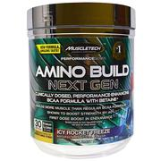 Muscletech, Amino Build Next Gen BCAA Formula With Betaine Icy Rocket Freeze, 9.73 oz (276 g)