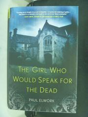【書寶二手書T3/原文小說_HLG】The Girl Who Would Speak for