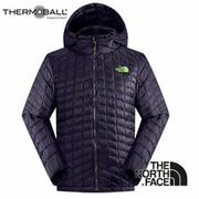 The North Face 男 ThermoBall? 保暖兜帽外套 深茄紫 C938