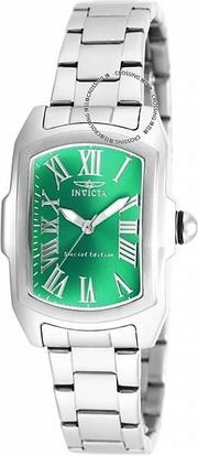 展示品 Invicta 18651 Baby Lupah Special Edition Green Dial Stainless Steel Womens Watch 女錶 232846260040