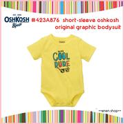 Enen Shöp @OshKosh B'gosh Cool dude眼鏡款趣味包屁衣 ∥ 6M **零碼出清**