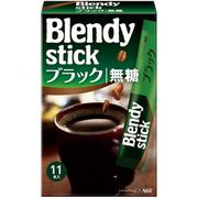 【AGF】AGF Blendy Stick咖啡-黑咖啡11本入2gx11(日本美食)