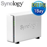 Synology群暉 DiskStation DS115j 1Bay 網路儲存伺服器