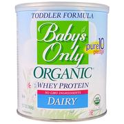[iHerb] [iHerb] Nature's One Baby's Only Organic, Toddler Formula Whey Protein, Dairy, 12.7 oz (360 g)