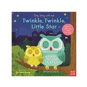 Nosy Crow - Sing Along With Me! 推拉搖轉書-Twinkle Twinkle Little Star