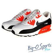 促銷品 NIKE 耐吉AIR MAX 90 ULTRA ESSENTIAL 復古鞋 男 537384126 Big-O Sports