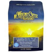 [iHerb] Mt. Whitney Coffee Roasters, Columbia Excelso Decaf, Whole Bean Coffee, Medium Roast, 12 oz (340 g)