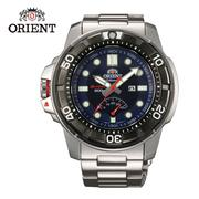 ORIENT 東方錶 M-FORCE FOR AIR DIVING系列 200m潛水機械錶 鋼帶款 SEL06001D 藍色 - 47mm