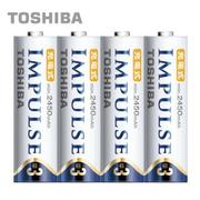 【日本製TOSHIBA】IMPULSE高容量低自放電電池(2450mAh 3號4入)