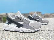 Shoestw【683818-009】NIKE WMNS AIR HUARACHE RUN PRM 灰色 武士鞋 女生